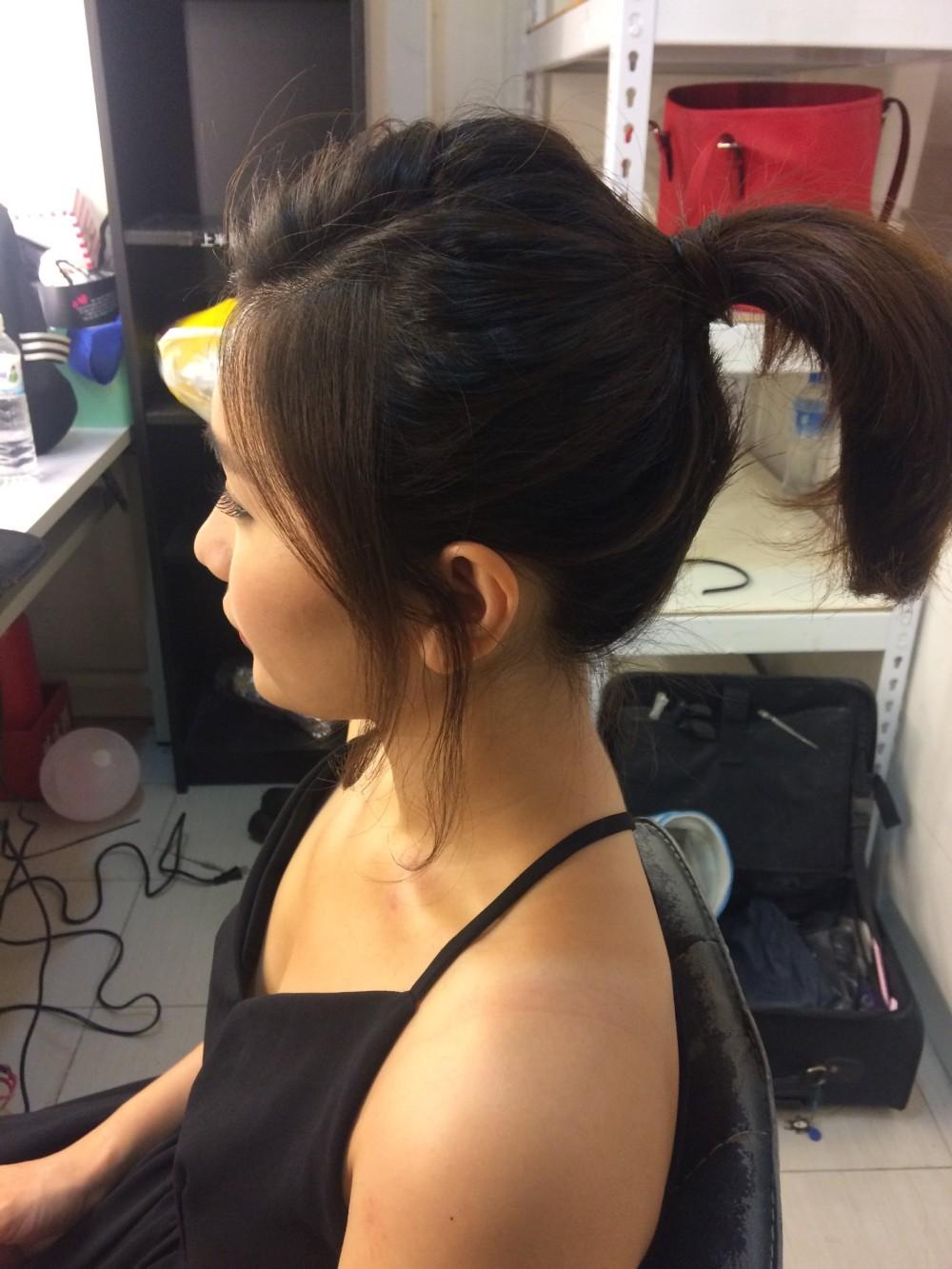 <個性俐落>造型妝髮-台北新秘ADi