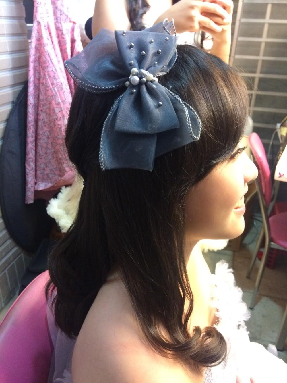 花童造型|甜美可愛妝髮-台北新秘ADi