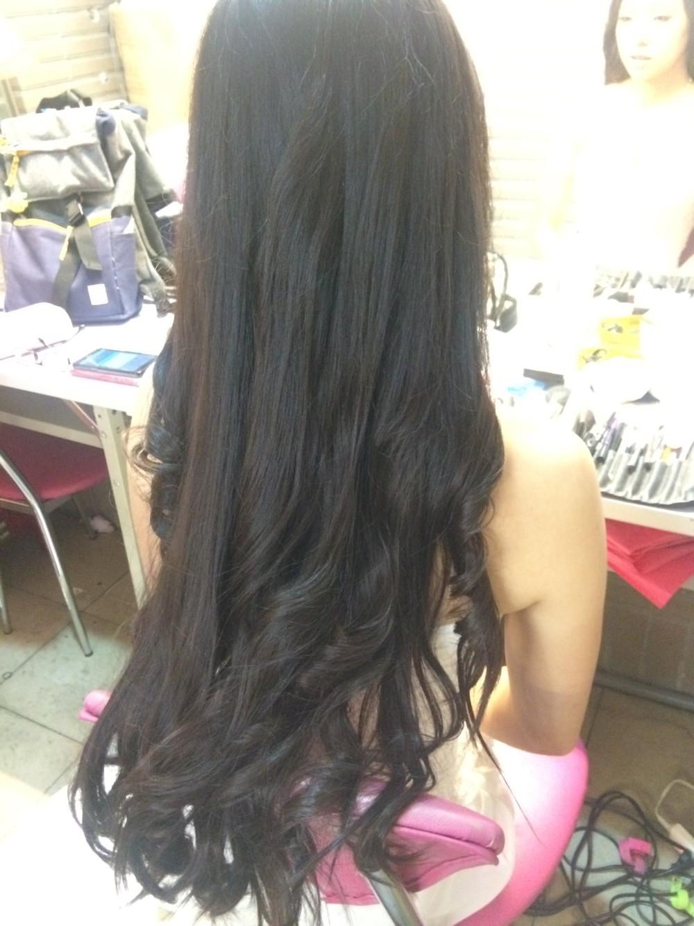 伴娘造型|白紗妝髮|長捲髮-台北新秘ADi