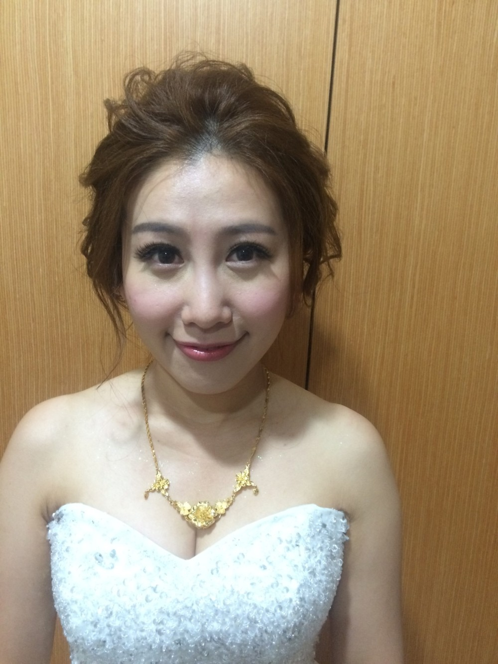 高髮髻|白紗造型|新娘妝法-新秘ADi