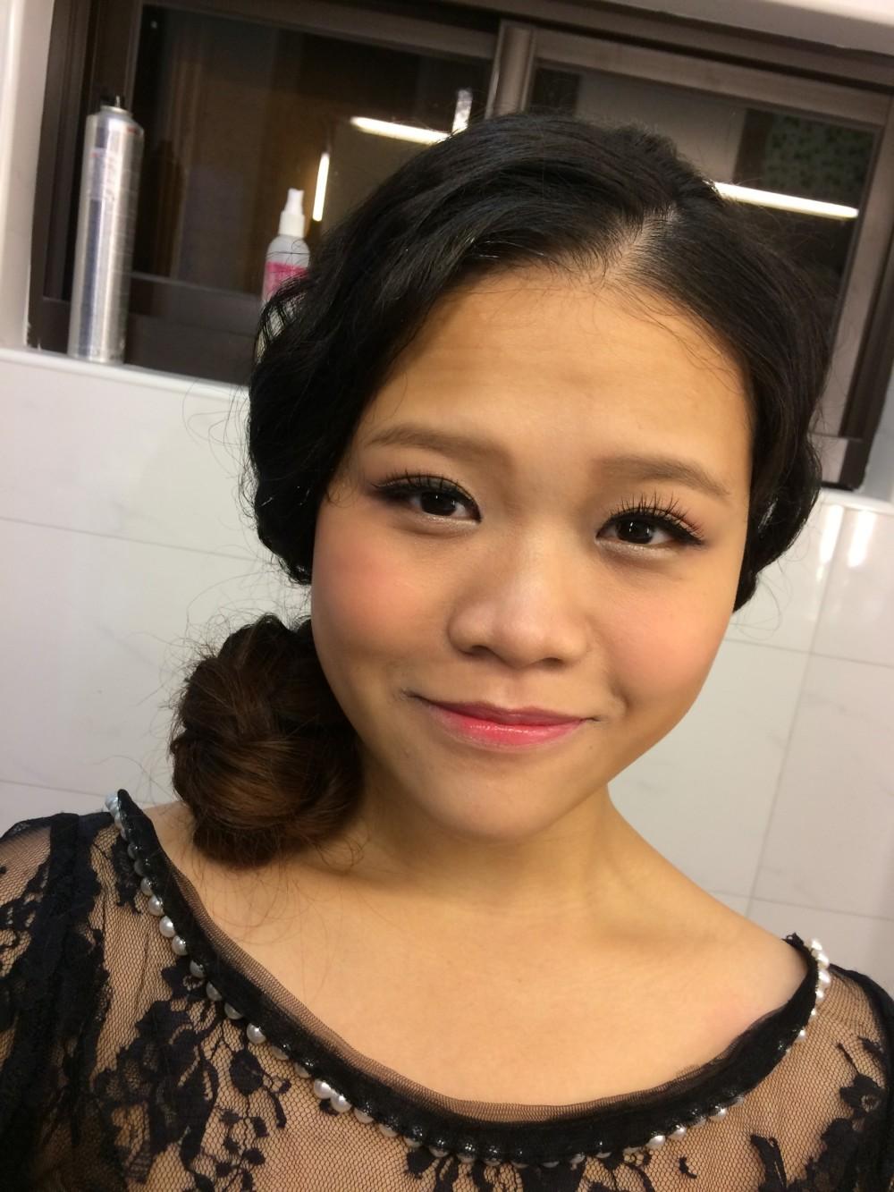孕媽咪造型|孕婦妝髮|個性甜美-新秘ADi