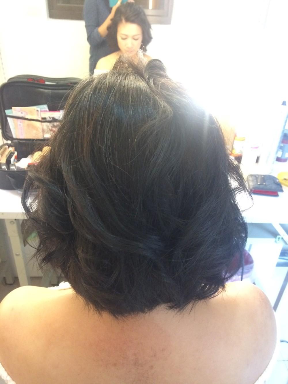 孕媽咪妝髮|短髮造型|自然甜美風-台北新秘ADi